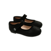 Black Metallic Mary Janes by Zeebra