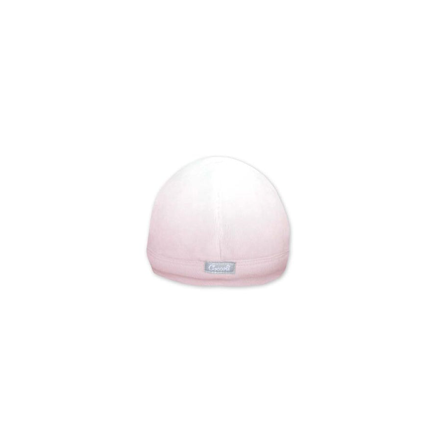 Pink Ombre Velour Baby Hat By Coccoli