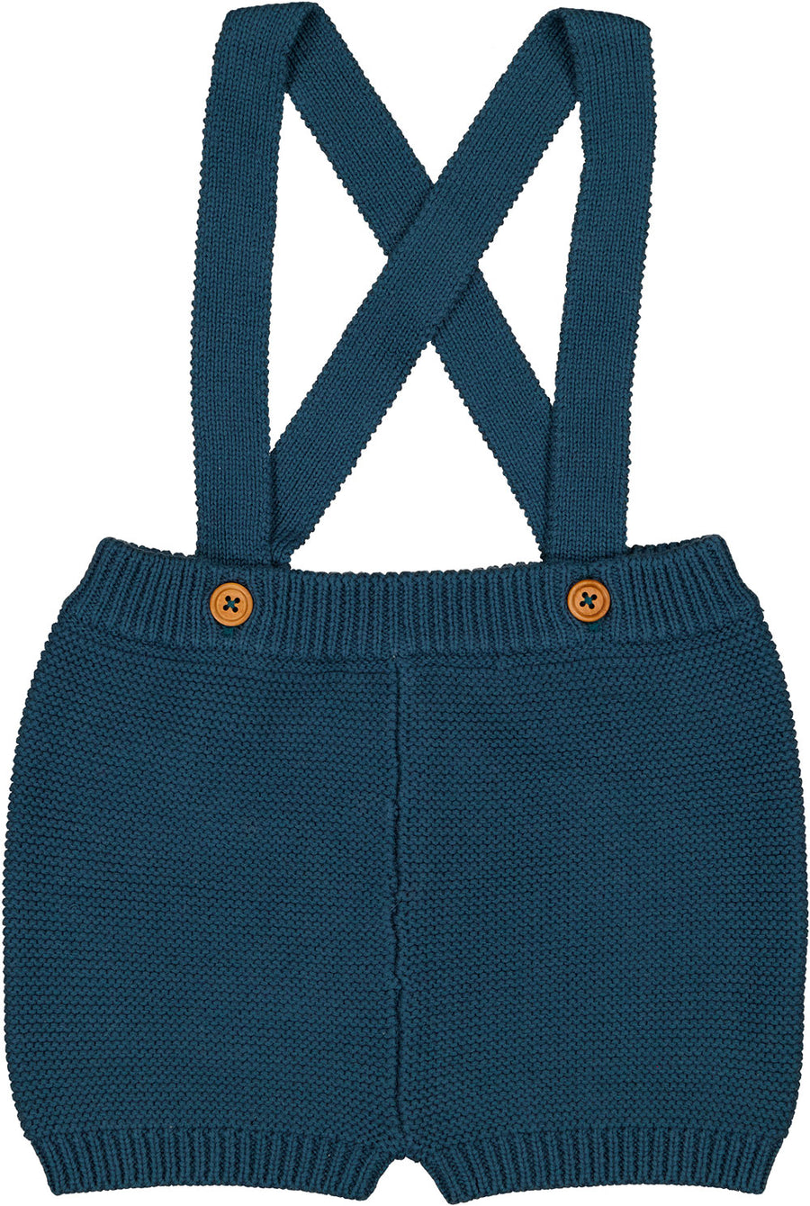 Blue Knitted Maxence Bloomer by Louis Louise