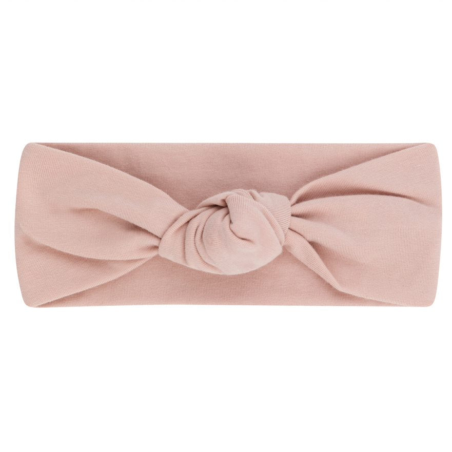 Piping Blush Pink Knot Headband by Elys & Co