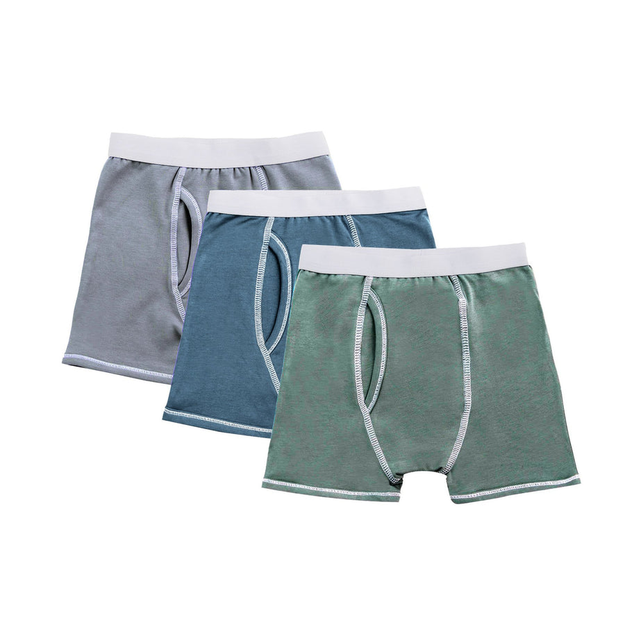 Boys 3pc Cotton Underwear by Petit Clair