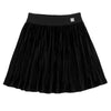 Pleated Velvet Skirt by Deux Par Deux