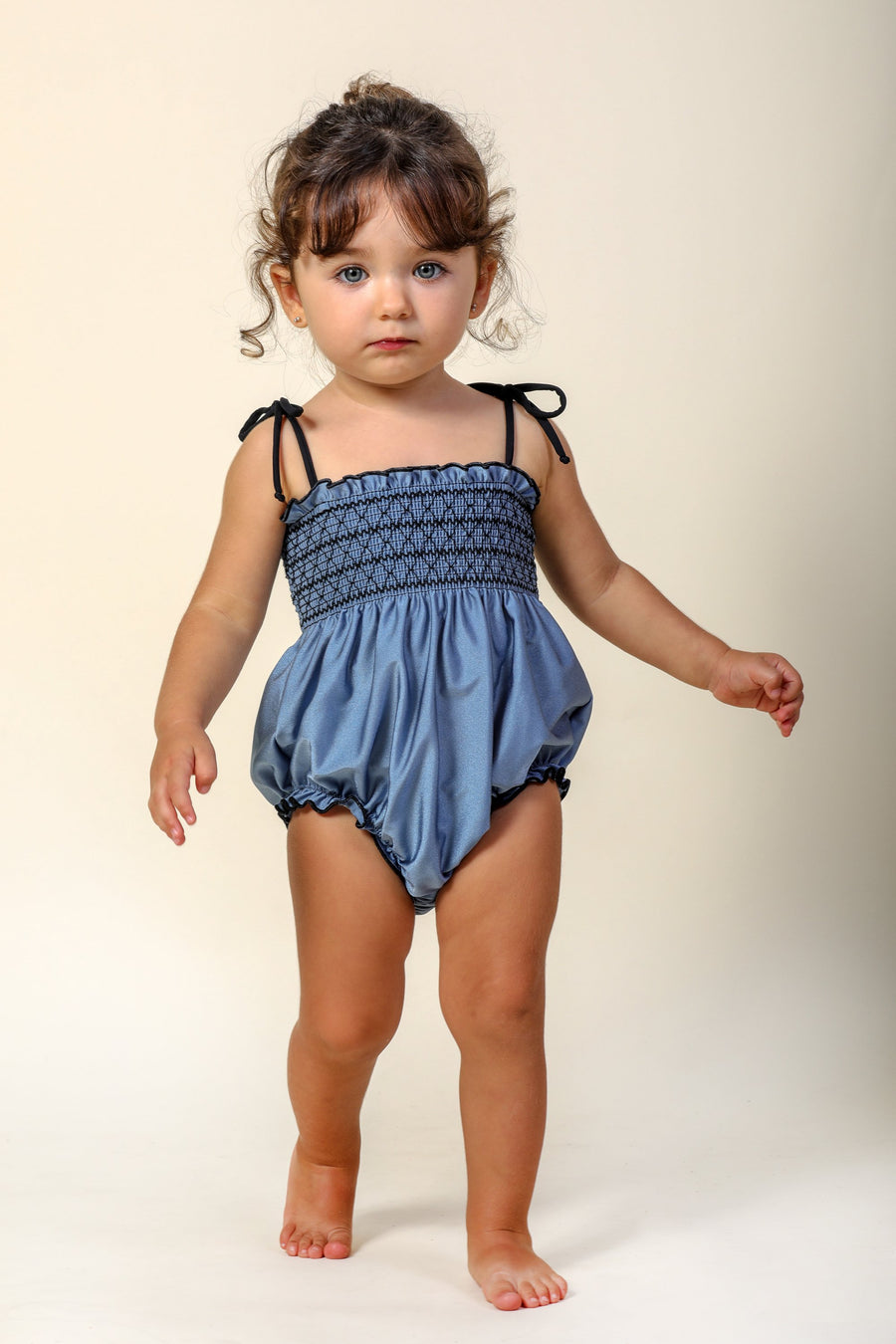 Almeria Baby Smocked Swimsuit By Nueces