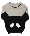 Stone Colorblock Sweater by Klai