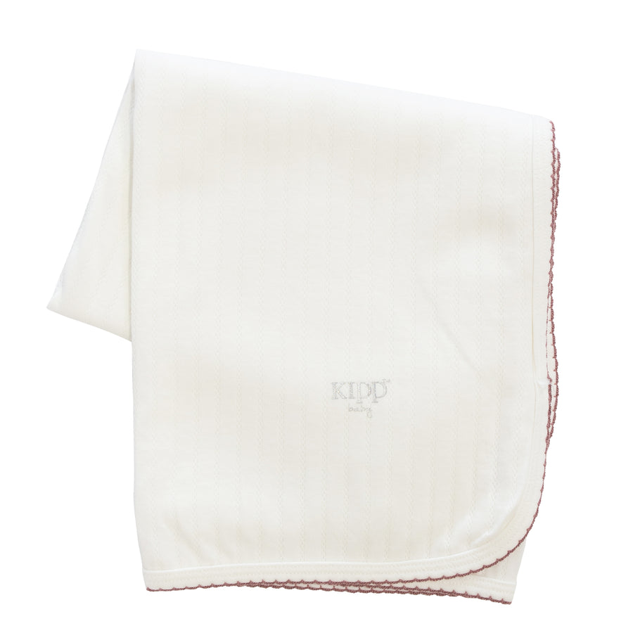 Blush Quilted Blanket by Kipp