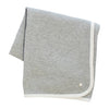 Grey Rib Blanket by Kipp