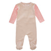 Pink Colorblock Romper by Kipp