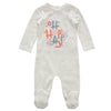 Pink Oh Happy Romper by Kipp
