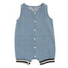 Denim Romper by Crew
