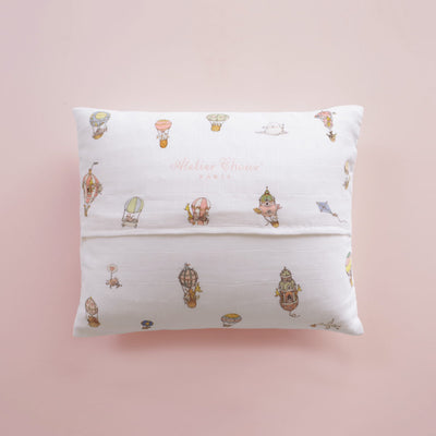Hot Air Balloons Pillow Cushion by Atelier Choux