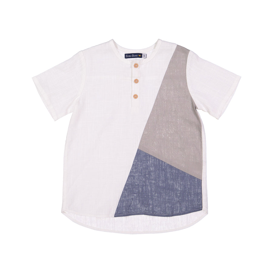 Color Block Shirt by Euro Boys