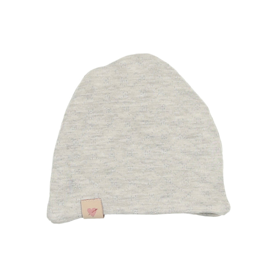 Grey Diamond Quilted Hat by Mon Tresor