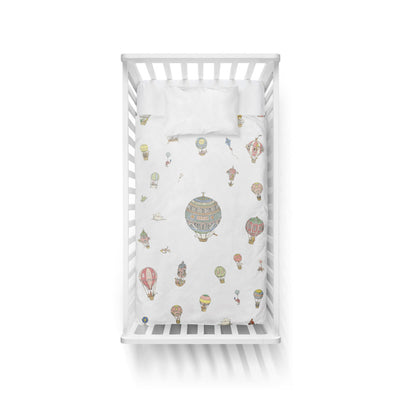 Hot Air Balloons Duvet Cover by Atelier Choux