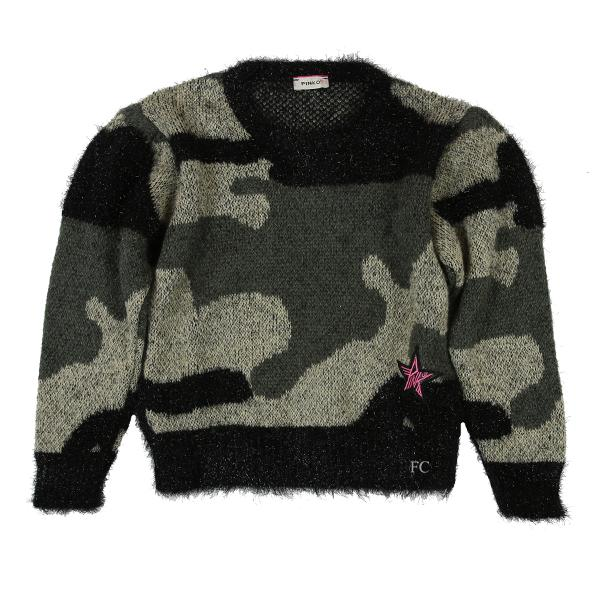 Camo Sweater by Pinko