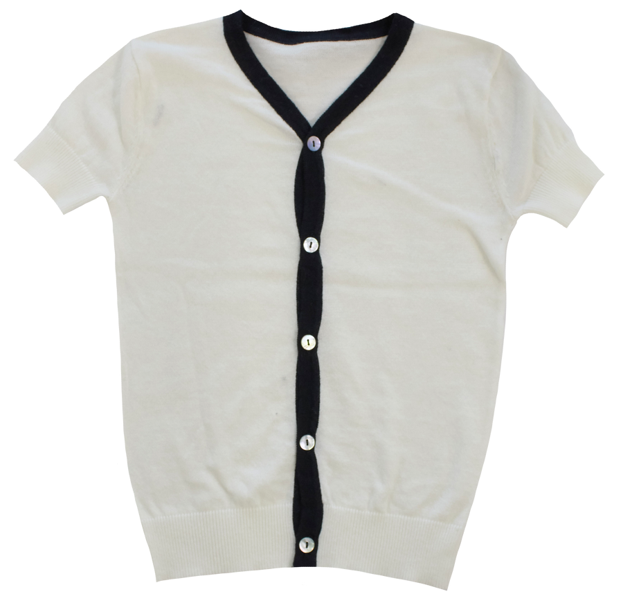 Short Sleeve Cardigan by Kipp