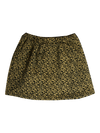 Latte Mini Plasma Pleat Skirt by Gro