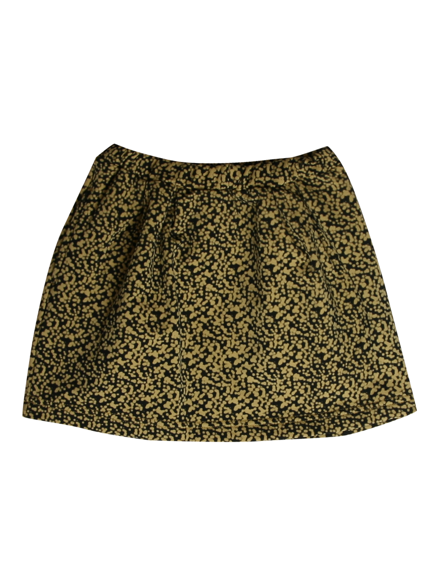 Latte Mini Plasma Pleat Skirt by Gro - Flying Colors Baby