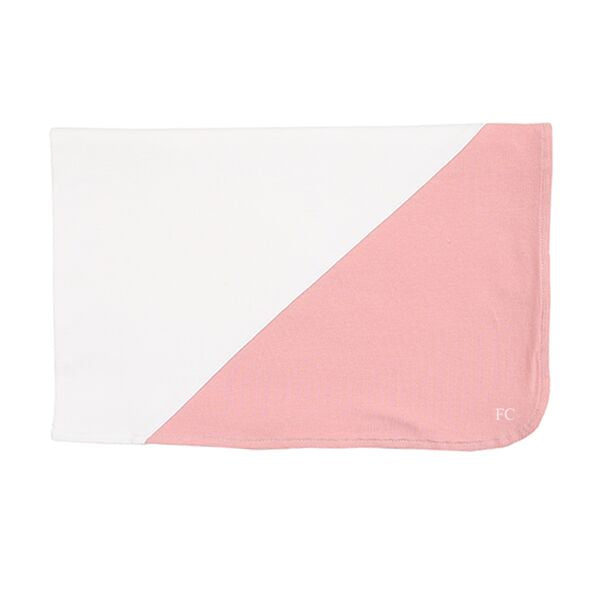 Blush Colorblock Blanket By Kipp