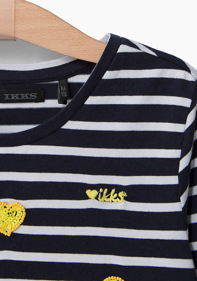 Lemon Hearts Tee by Ikks