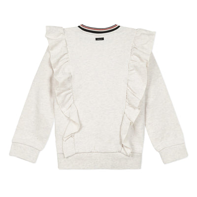 Oh Girls Ruffle Sweatshirt by Catimini