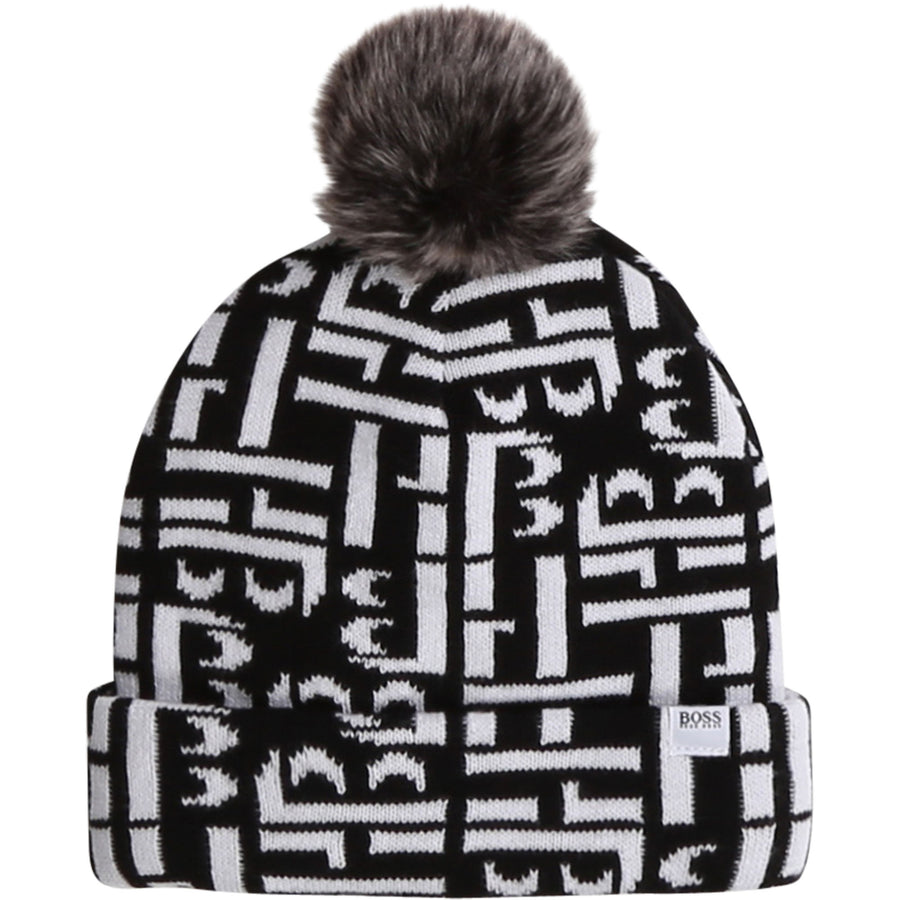 Pom Pom Beanie by Hugo Boss