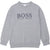 Monogram Logo Sweater by Hugo Boss