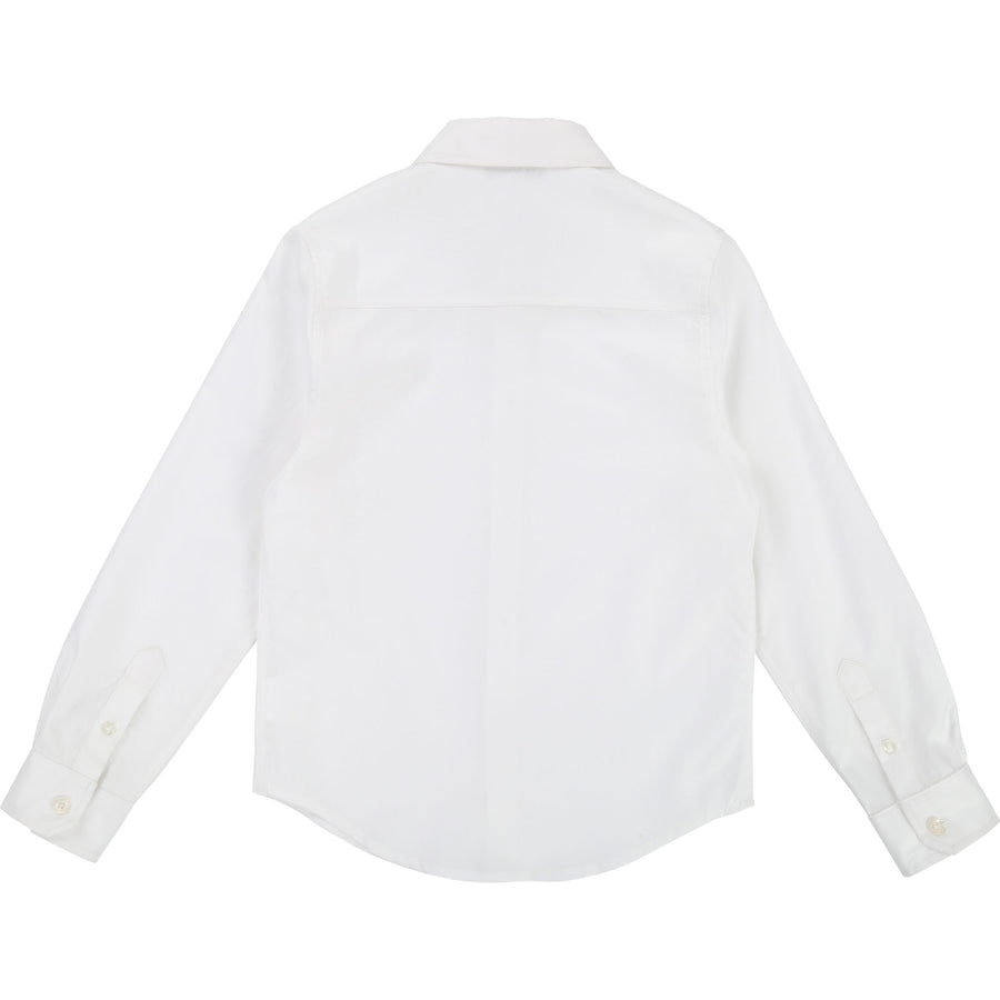 White Essential Dress Shirt By Hugo Boss