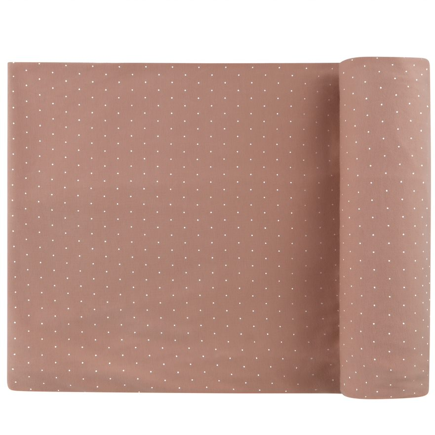 Pin Dot Terracotta Blanket by Ely's & Co.