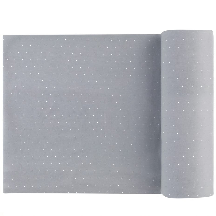 Pin Dot Misty Blue Blanket by Ely's & Co.