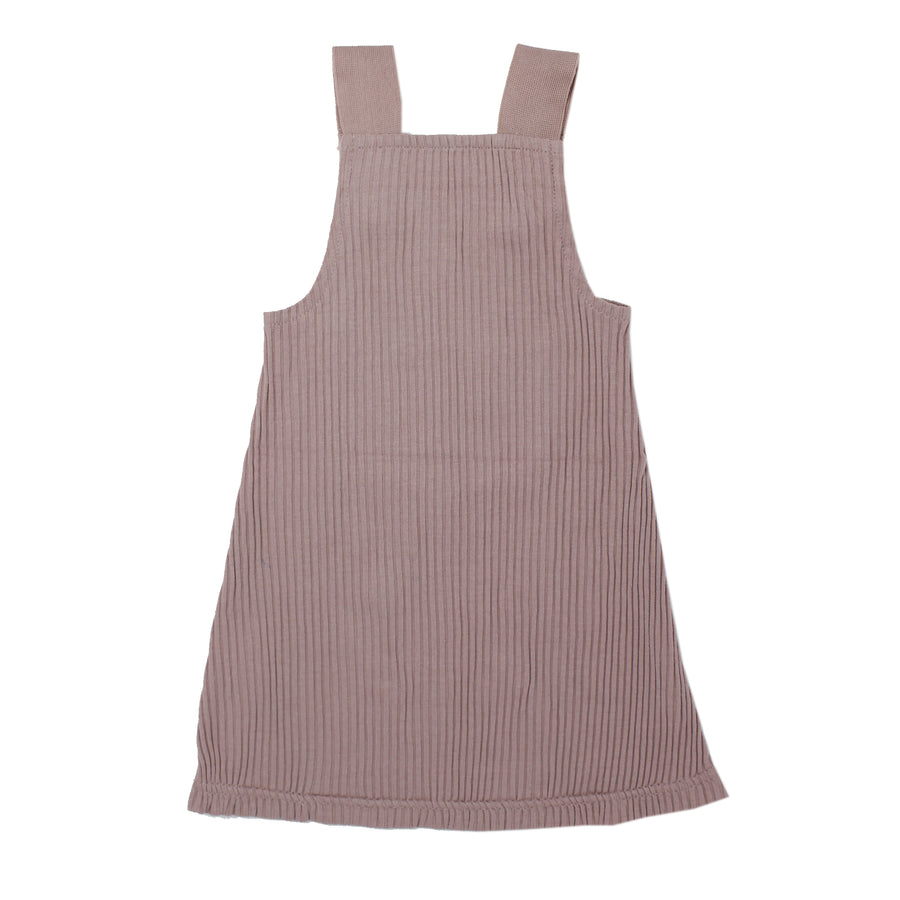 Thistle Ribbed Tank Dress by L'ovedbaby