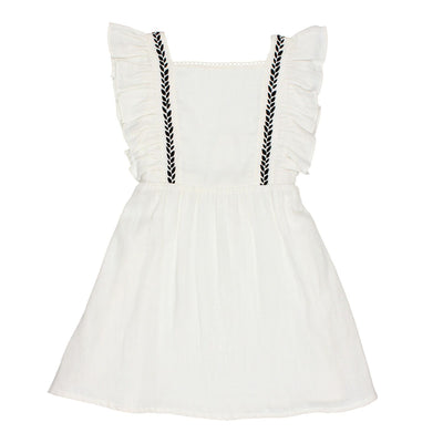 Graziella Embroidered Dress by Buho