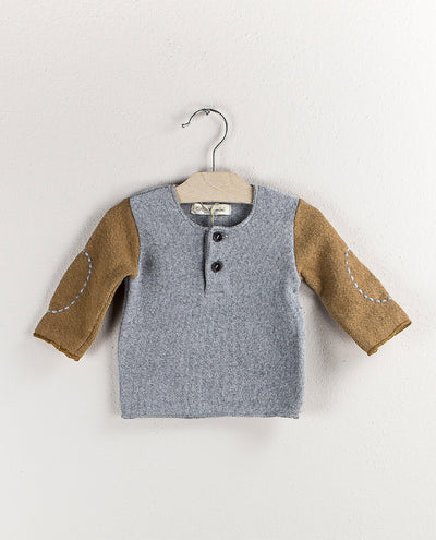 Grey & Brown Pull by Olive by Sisco - Flying Colors Baby