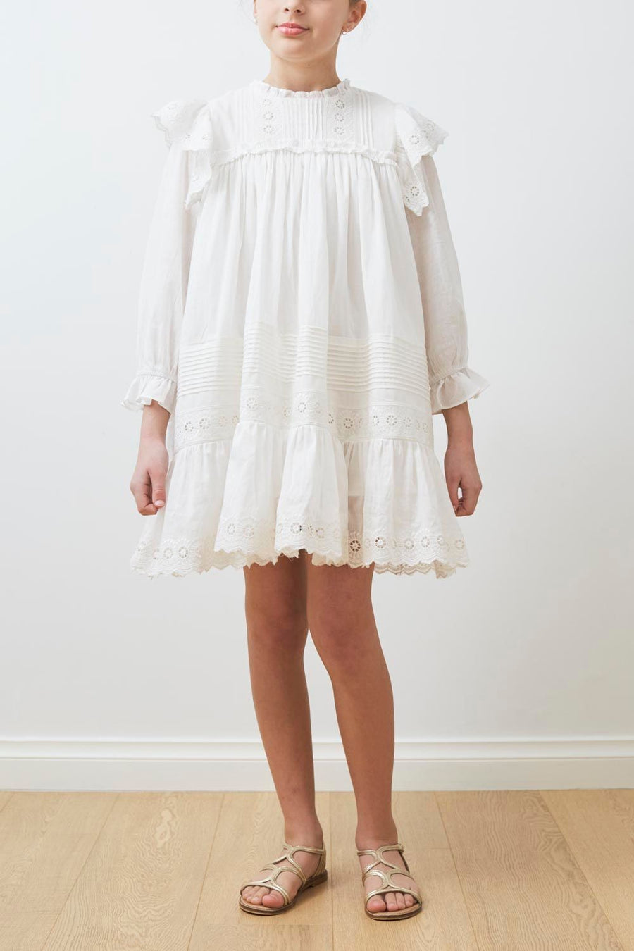 White Victoria Dress by Petite Amalie