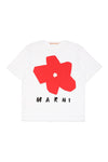 Flower Logo T-Shirt by Marni