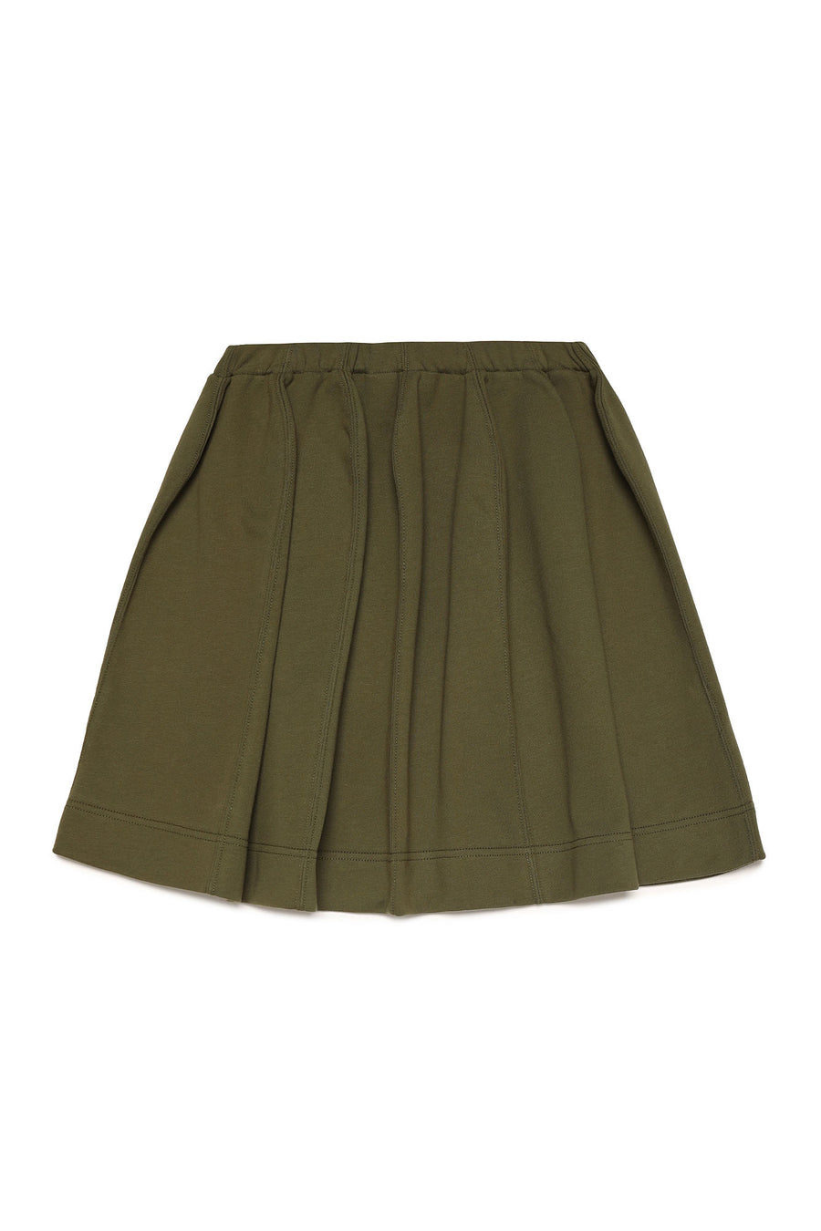 Khaki Logo Skirt by Marni