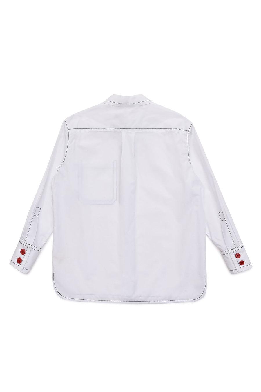 Piped White Shirt by Marni