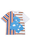 Stripes & Flowers T-Shirt by Marni