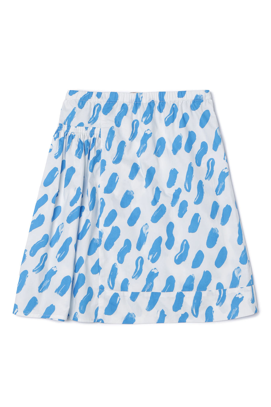 Blue Strokes Skirt by Marni