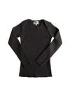 Cocoa L/S Knitted Wool Top by Mabli