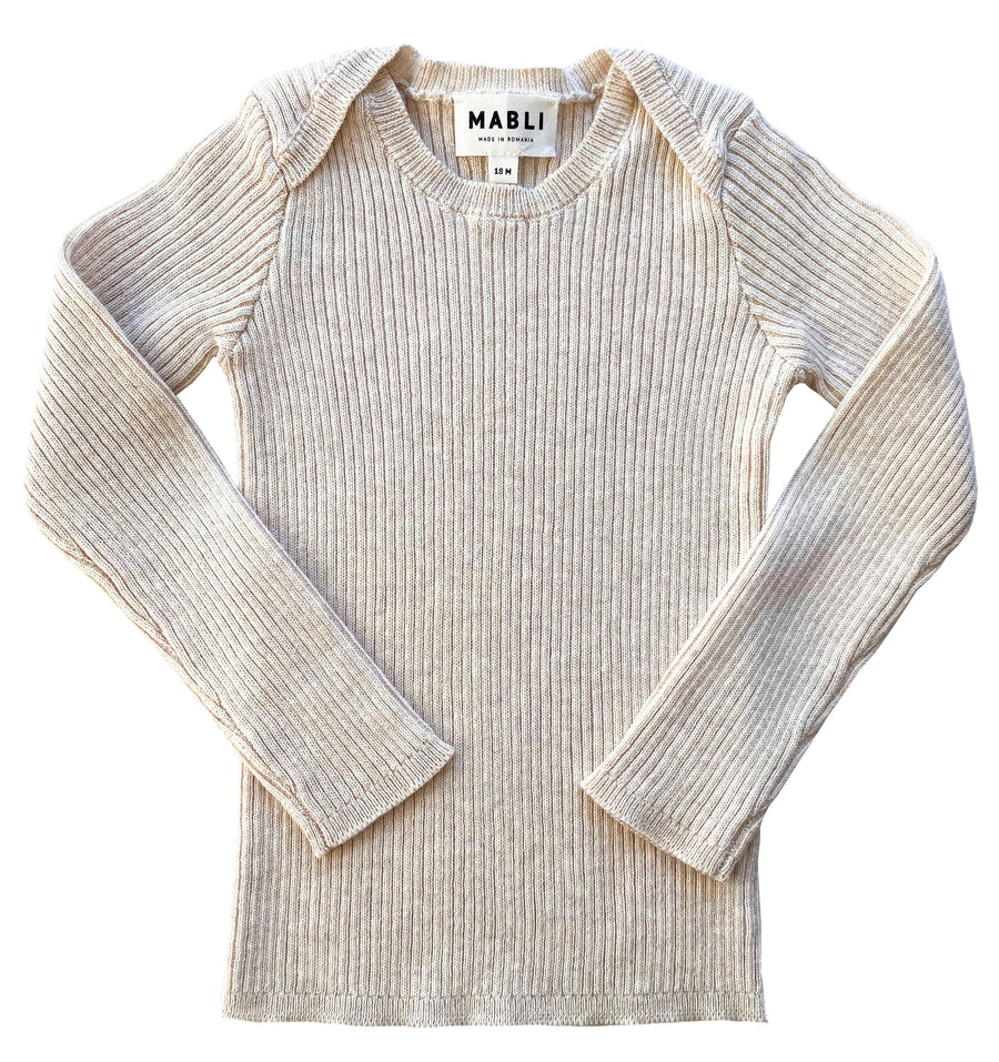 Long Sleeve Knitted Top by Mabli