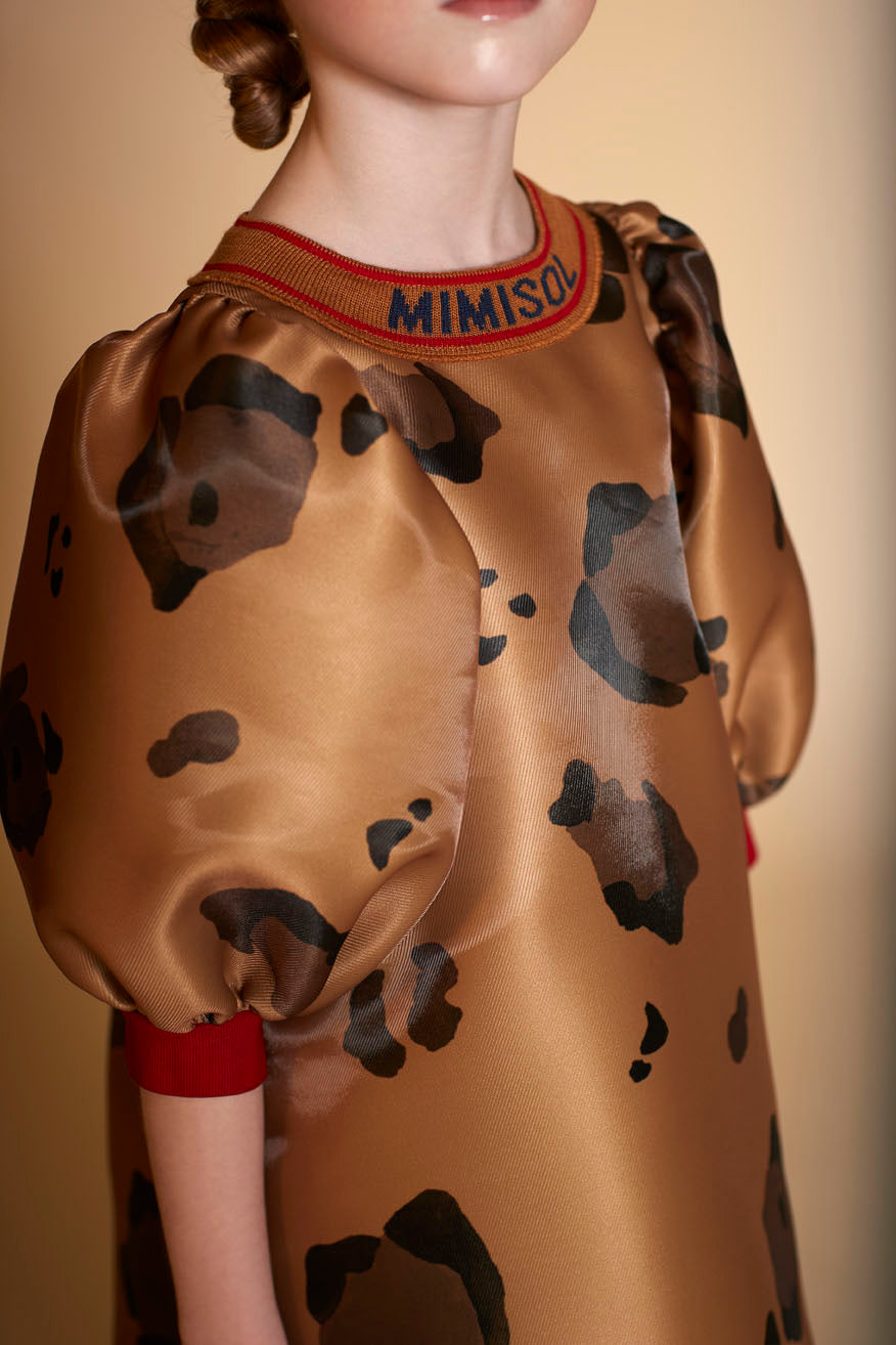 Floral Brown Dress by Mimisol