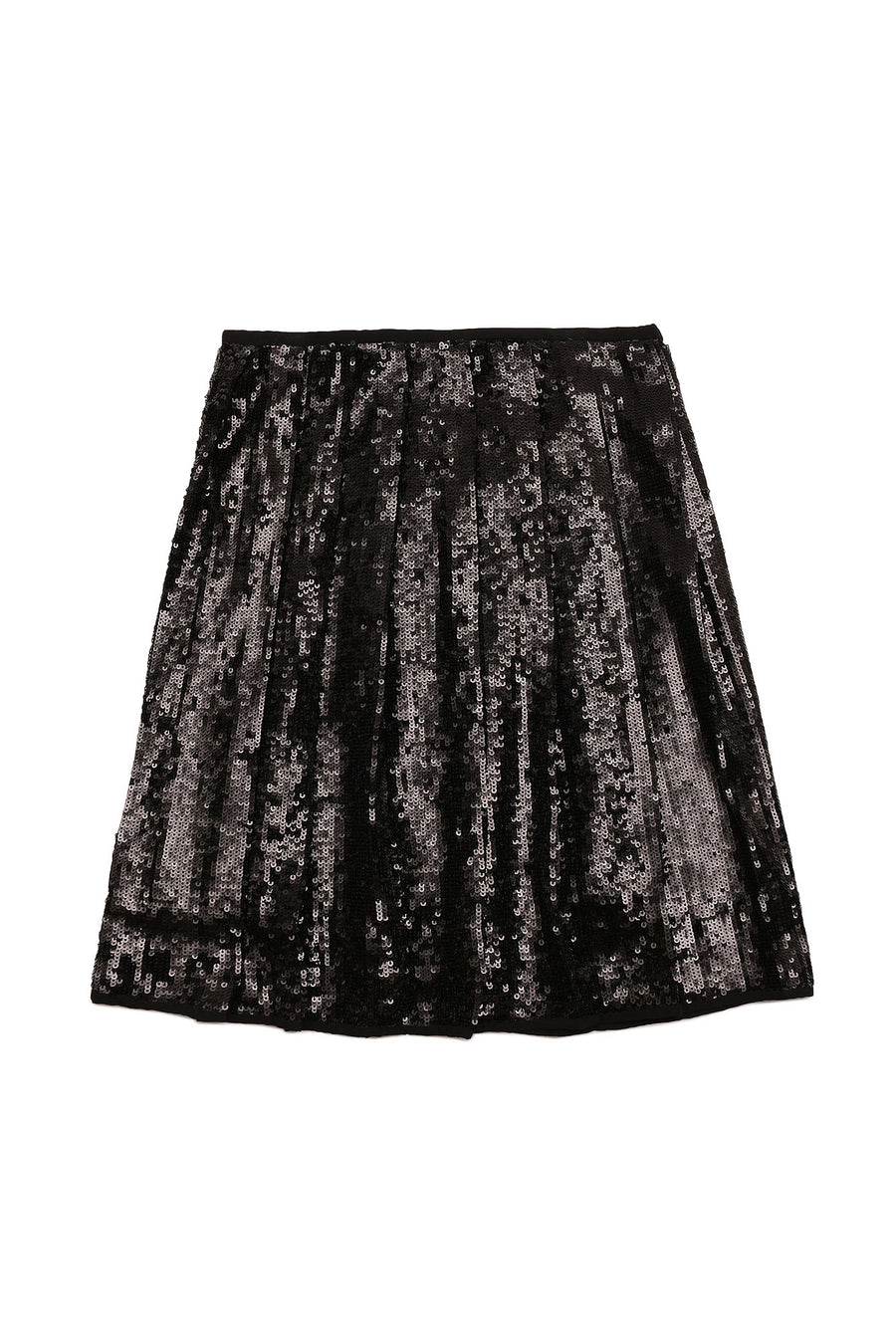 Sequin Pleat Skirt by N21