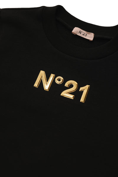 Gold Logo Sweatshirt by N21