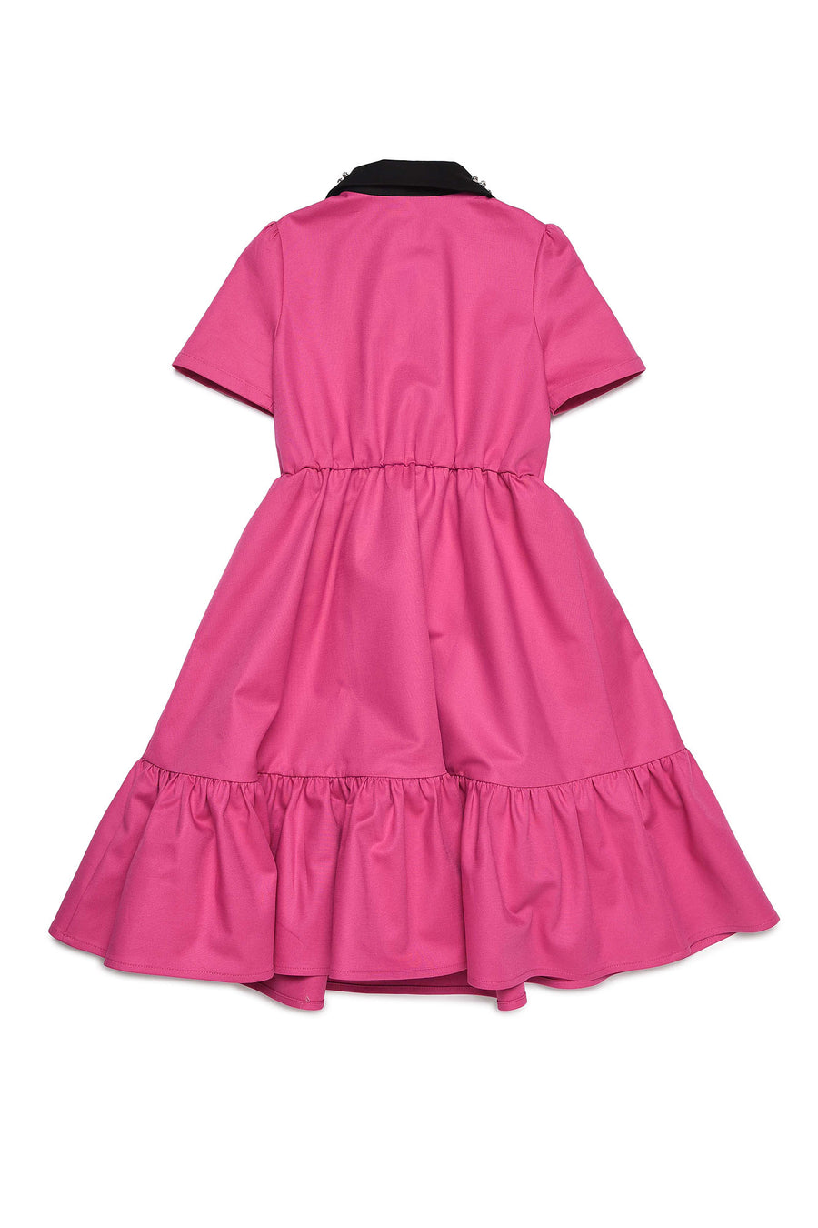 Hot Pink Jewel Collar Dress by N21