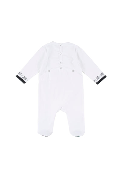 White Jolly Onesie By Loud