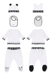 White Tee Set By Loud