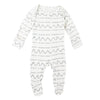 Seafoam Mountains Organic Lap Footie by L'ovedbaby