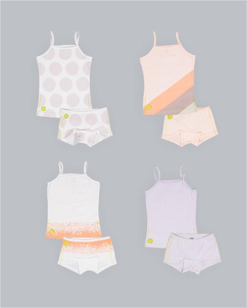 Girl Underwear 8pc Set by DOTT Child