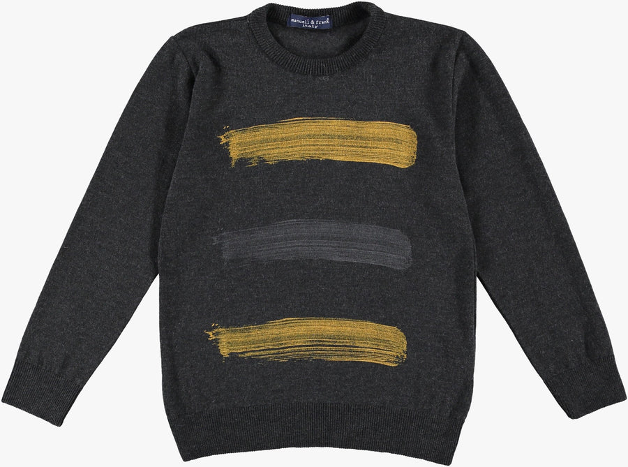 Strokes Sweater by Manuell & Frank