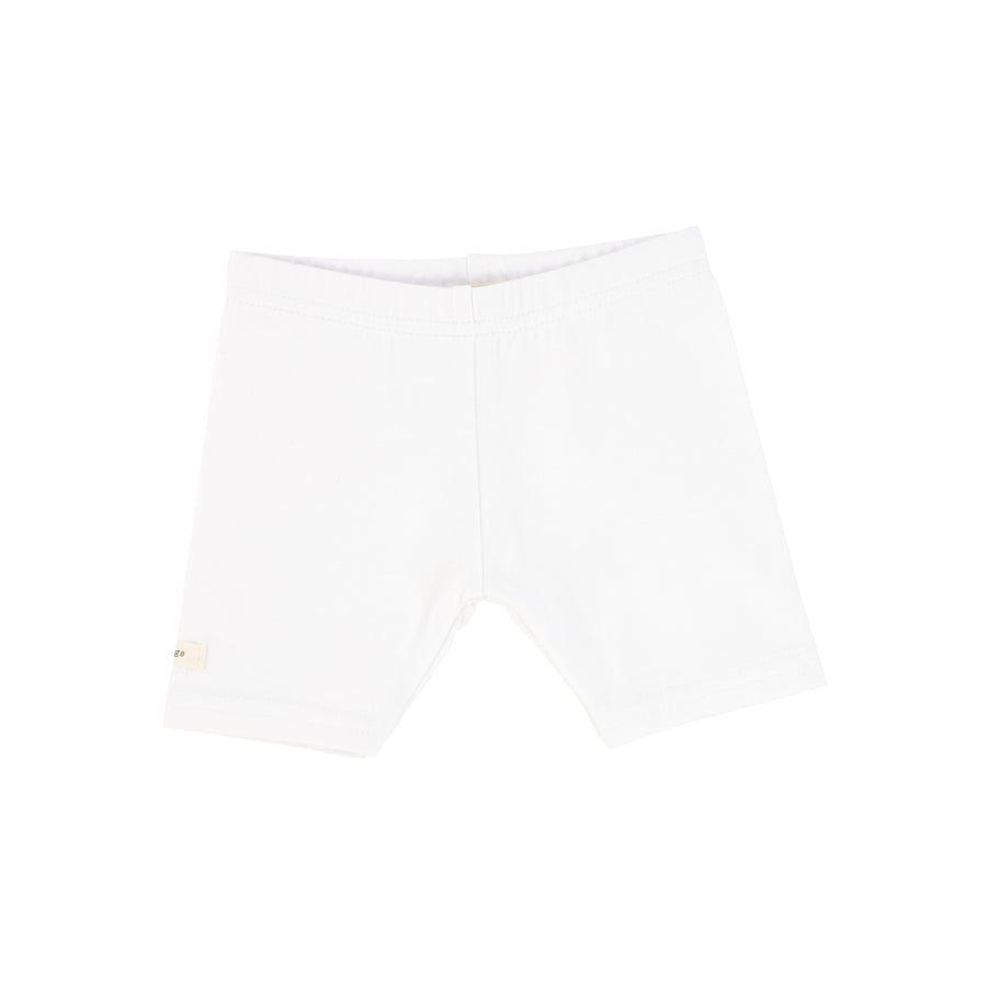 Pure White Shorts by Lil Leggs